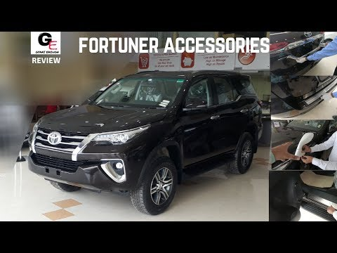 Toyota Fortuner Accessories   Modified Fortuner   2018 Toyota Fortuner with prices !!!!!