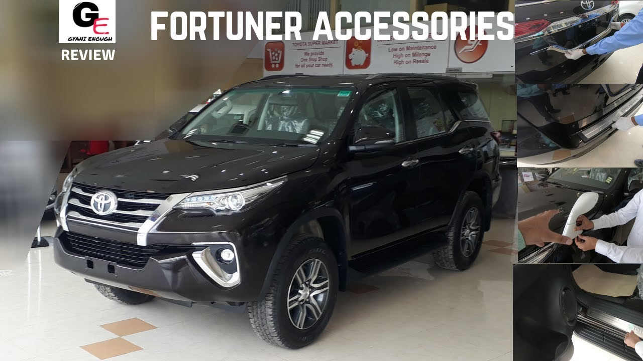 Toyota Fortuner Accessories | Modified Fortuner | 2018 Toyota Fortuner with  prices !!!!!