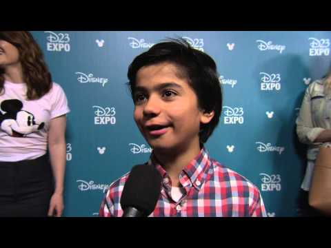 Disney's The Jungle Book: Neel Sethi D23 Expo 2015 Interview