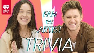 Niall Horan Goes Head to Head With His Biggest Fan! | Fan Vs Artist Trivia