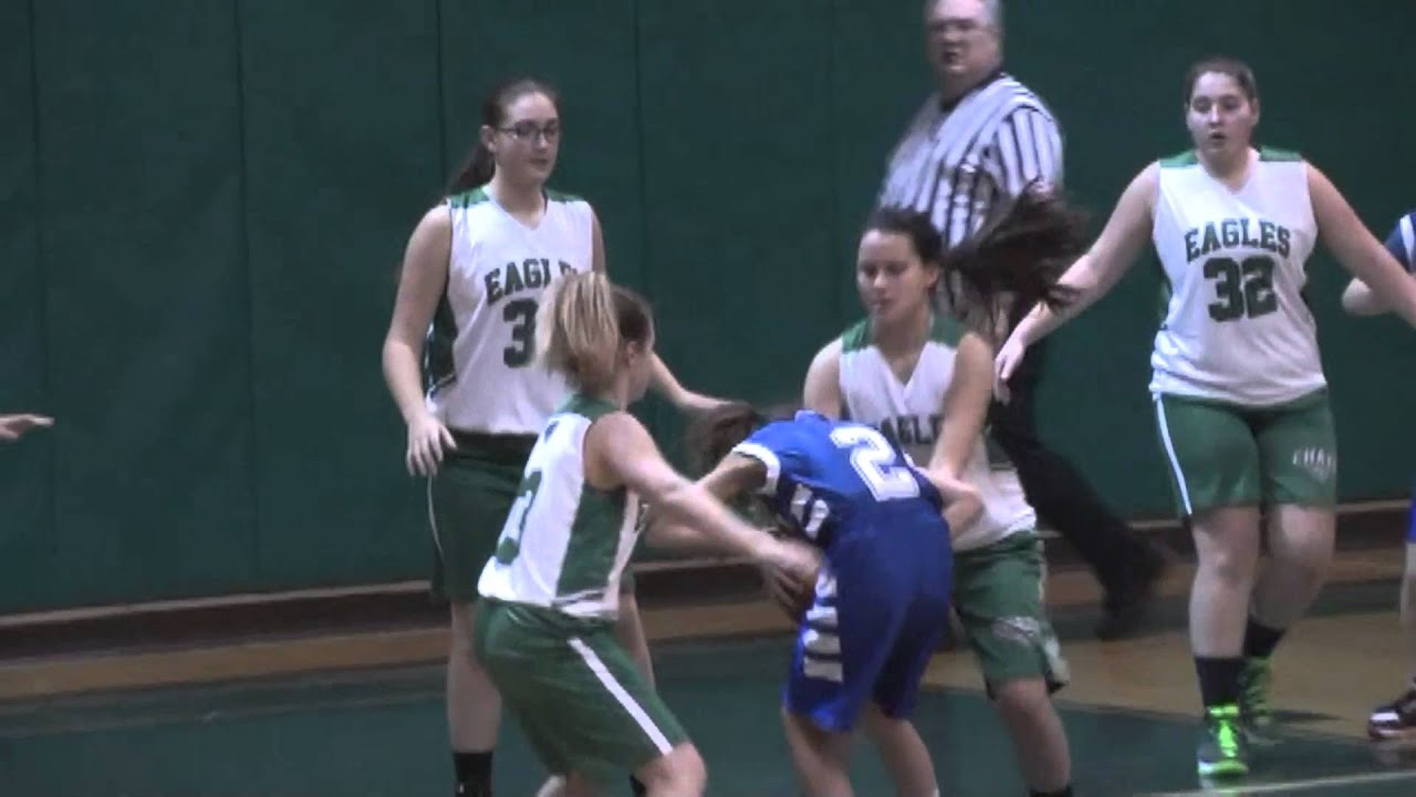Chazy - Seton Catholic Modified Girls  1-13-16
