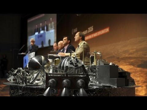 European Space Agency hails its ExoMars mission - YouTube
