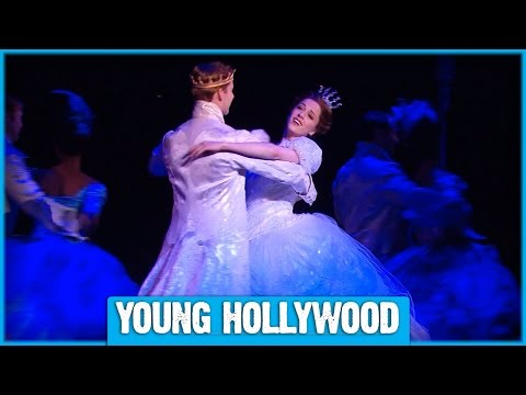 Backstage With Stars Of Broadway's CINDERELLA!