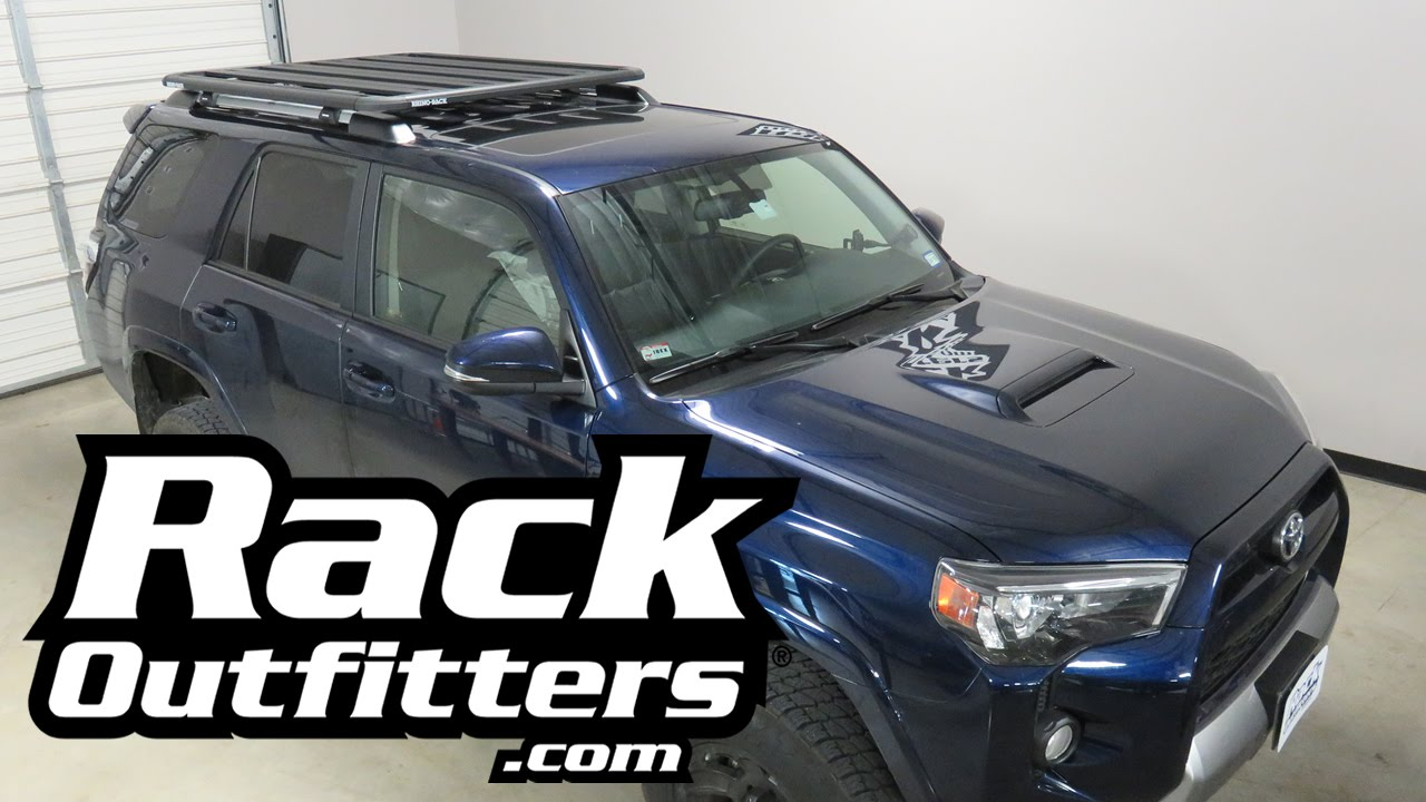 Most Versatile Roof Rack System For Toyota 4 Runner The Rhino Rack SX  Platform Tray   YouTube