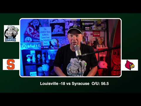 Louisville vs Syracuse 11/20/20 Free College Football Picks and Predictions CFB Tips Pick Dawgz