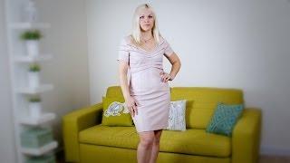 Кожаное платье из американского магазина evesapple.com с быстрой доставкой FedEx