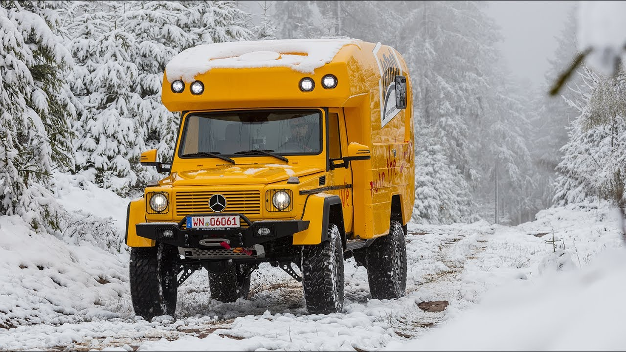 Luxury Mercedes G-Class Camper with Portal Axles