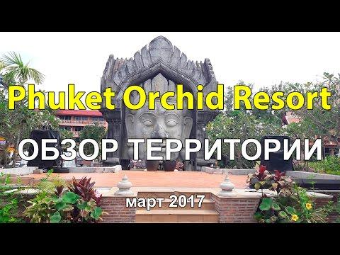 Phuket Orchid Resort 4*, пляж Карон Пхукет Тайланд март 2017, обзор