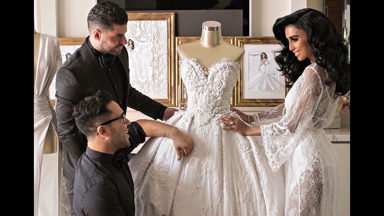Lilly ghalichi mir 39 s wedding dresses ryan and walter for Ryan and walter wedding dress prices