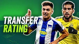 Das Transfer-Rating: Kommt Piatek zu Hertha? Woran hängt es bei Emre Can? Was wird aus Mateta?