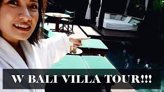 W Bali Villa Tour (in Seminyak) | Laureen Uy