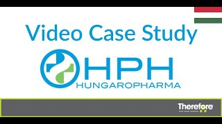 Hungaropharma uses Therefore™