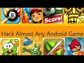 Simple method to hack all games apk