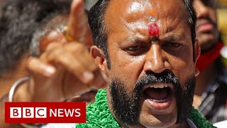India farmers protest turn violent - BBC News