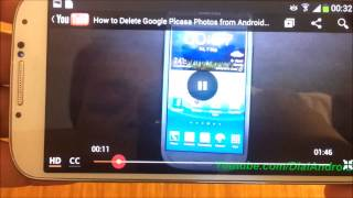 Galaxy S4 Eye tracking feature for Play/Pause Video using eye motion