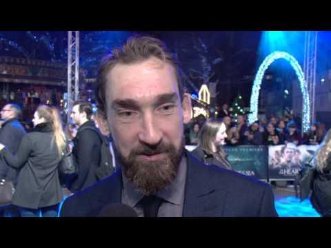 Joseph Mawle Interview - In The Heart Of The Sea European Premiere