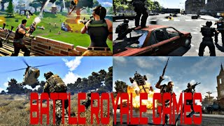 The Battle Royale games(PUBG, ROS, FORTNITE, BLACK OPS4, FREE FIRE ETC) theme || combined||