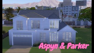 Aspyn And Parker S House No Cc Sims 4 Speed Build Youtube