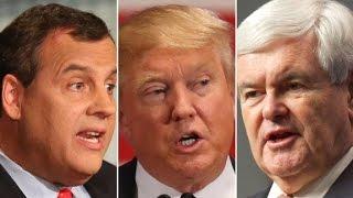 Report: Gingrich, Christie leading Trump VP list