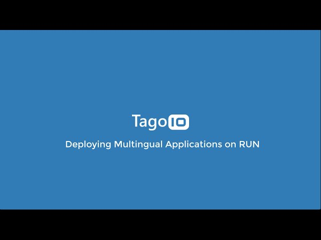 Deploying Multilingual Applications on RUN