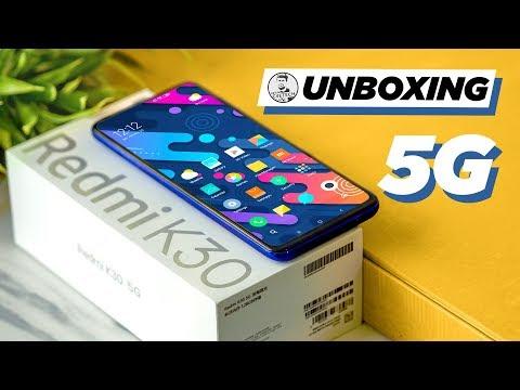 Redmi K30 5G (Snapdragon 765G) - Unboxing & Hands On