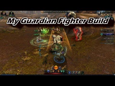 Neverwinter - My Guardian Fighter Build (tank/dps hybrid)
