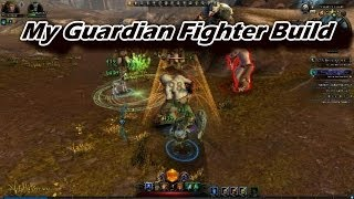 Neverwinter - My Guardian Fighter Build (tank/dps hybrid)