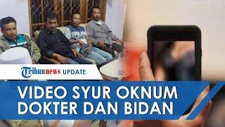 Viral Video Syur Oknum Dokter Dan Bidan Di Jember, Direkam Di Rumah Dinas Hingga Wajahnya Terekspos