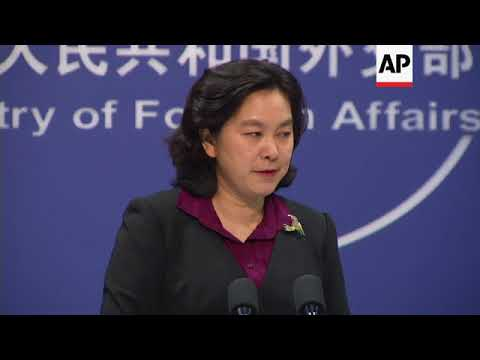 Beijing comment on NKorea, US aircraft carrier, Japan relations