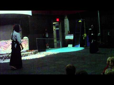 Kendo Demonstration at MOSI, Tampa, FL