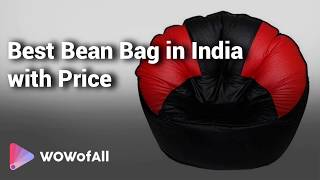 Best Bean Bag in India: Complete List with Features, Price Range & Details