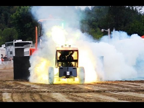 Crazy Canuck Tractor Pulling Explosion @ Richmond Fair 2015 by ASTTQ