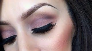 Soft pink cut crease makeup tutorial Thumbnail
