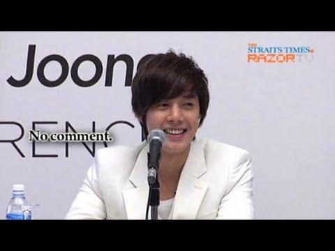 """I Look Like Bae Yong Joon?"" (Kim Hyun Joong Press Con Pt 5)"