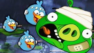 ЗЛЫЕ ПТИЧКИ в погоне ЗА КОРОЛЁМ СВИНЕЙ Игровой мультик Игра для детей Angry Birds 2