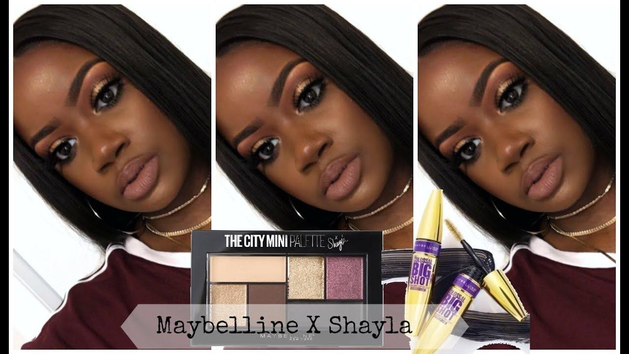 e2ab8a4d7ae Neutral Eye Ft: Maybelline X Shayla City Mini Palette Tutorial ...