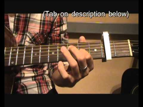 Guitar Tutorial - Kids by MGMT (in French subtitled in English)