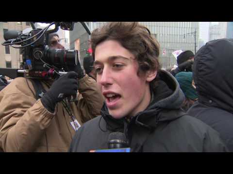 goldman sachs protest