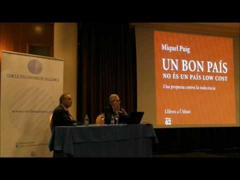 """""""Un bon país no és un país low cost"""" (Miquel Puig) 07.04.16"""