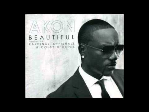Beautiful  Akon Audio