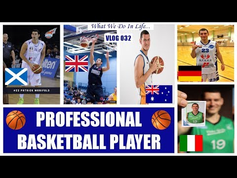 PROFESSIONAL BASKETBALL PLAYER  //  What We Do In Life...  (Vlog 032)