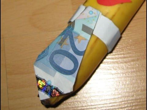 Krawatte Aus Geld Falten Youtube