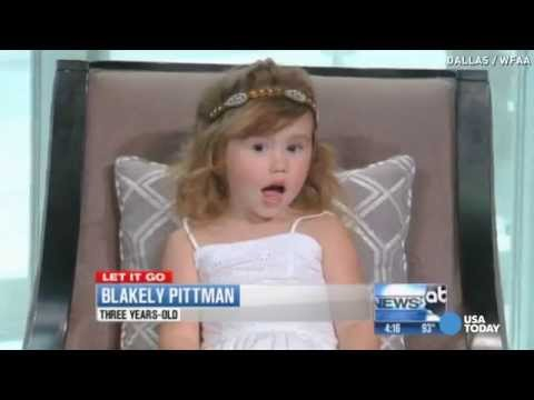 Dad behind 'Let It Go' duet with daughter: Be ridiculous