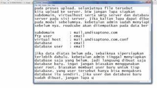 Installing Roundcube Webmail on Ubuntu Server 14 04