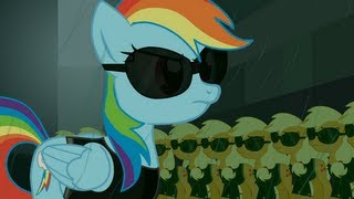 The Matrix Re-enacted by Ponies