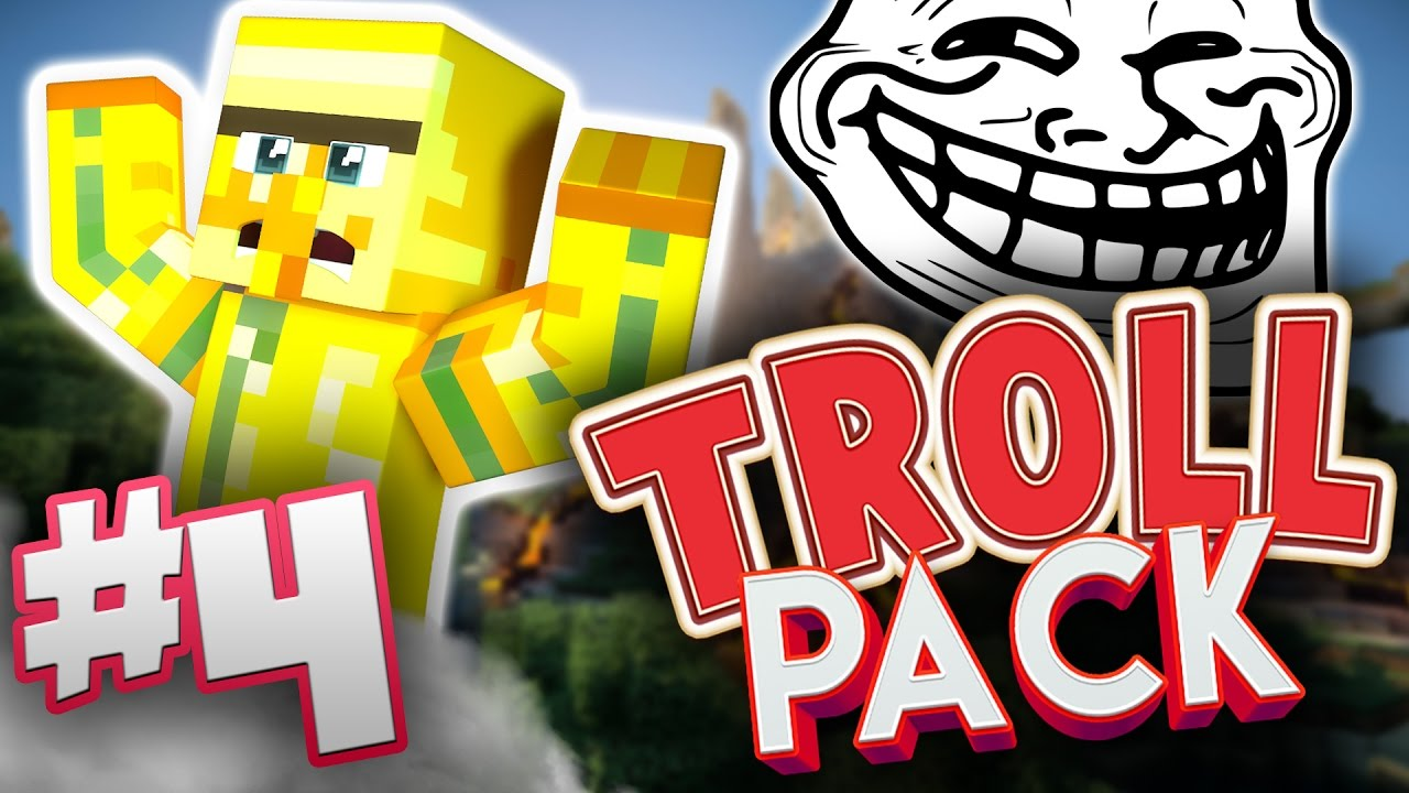 NEW HOUSE?! - Troll Pack #4 - Minecraft w/Nice Posture ...