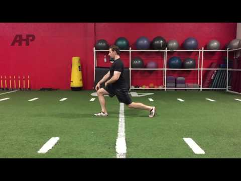 Lean Forward on Lunges