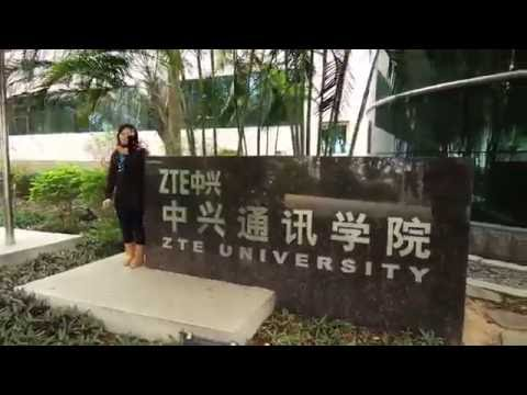 Visiting ZTE University - Dameisha Shenzhen