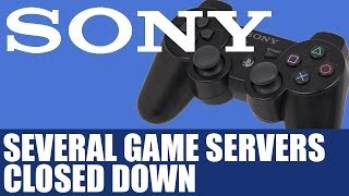 Playstation 3 News - Sony Shuts Down Servers For Some PS3 Games - Inc. Gran Turismo 5