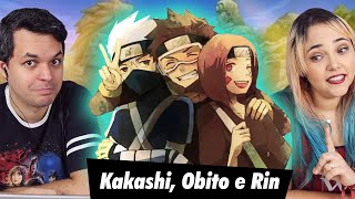 REACT Rap do Kakashi, Obito e Rin (Naruto) - NINJAS MERECEM PERDÃO | NERD HITS (7 Minutoz)